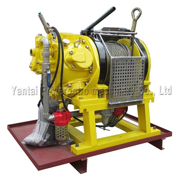 Globe Air Hoist : Offshore pneumatic winches manufacturer air powered