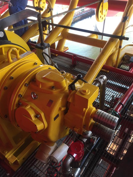 Singapore 10 Ton Air winches