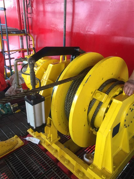 Singapore 10 Ton Air Winches and Hoists