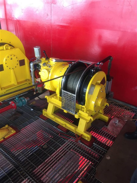 Singapore Shipbuilding 2 Ton Marine Winches and Hoists