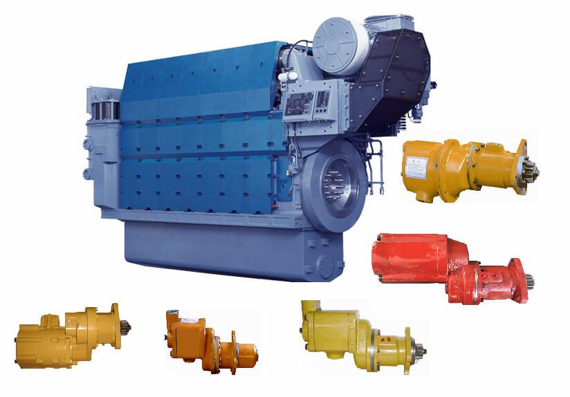 air turbine starters high torque diesel engines generators starters